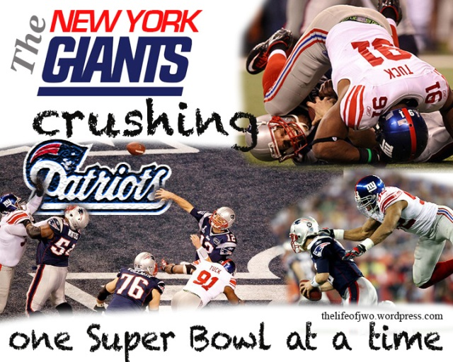NY Giants beat Patriots in  Super Bowl XLVI