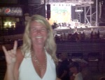 Tammy is looking for nothin' but a good time at last summer's Poison concert in Orange Beach, Alabama.