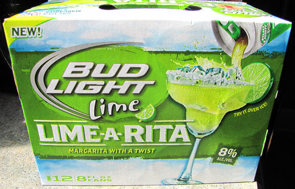 Bud Light Lime Ritas created four Ritas recipes for adults 21 and older to enjoy; they're perfect for spring and summer entertaining. Muddle fresh mint leaves with lime juice and simple syrup. Add ice and pour Bud Light Lime Lime-A-Rita. Muddle jalapeño with lime juice and simple syrup. Add ice.