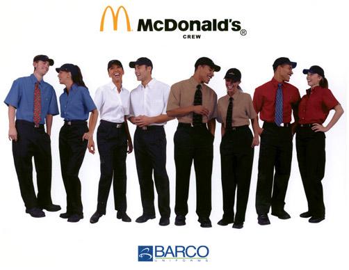 Mcdonalds Manager Uniform 57