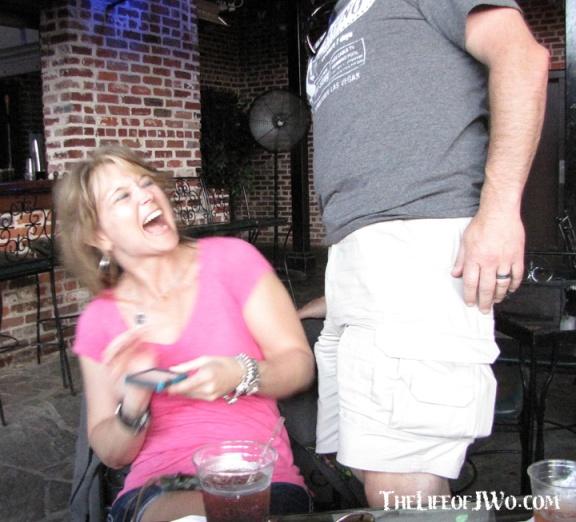 He wasn't... He was just pushing his crotch toward her face.
