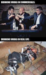 Drinking Vodka