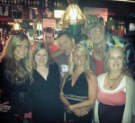 Tammy's Mom and step-Dad meet part of The Crew last Friday night.