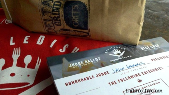 "Battledish: Memphis Judge JWo's official ballot and ""real"" grits."