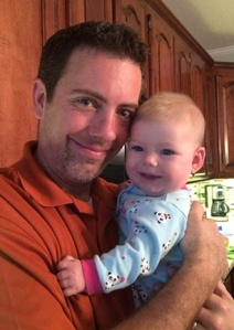 Being a Pappaw with my granddaughter, Brooklynn.
