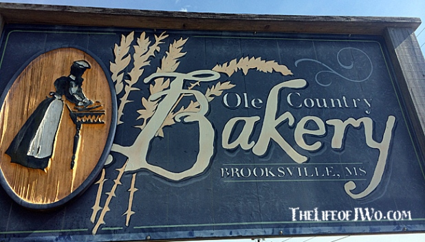 Ole Country Bakery in Brooksville, Mississippi.