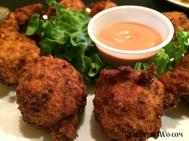 Conch fritters from City Grill.