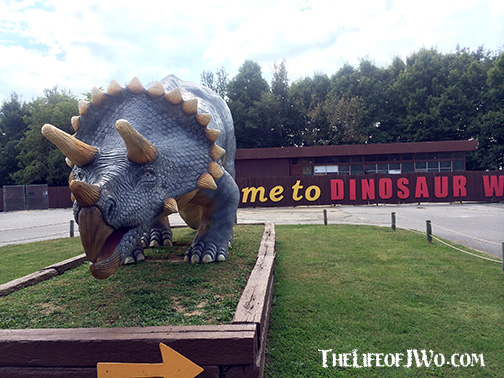 Dinosaur World in Kentucky.