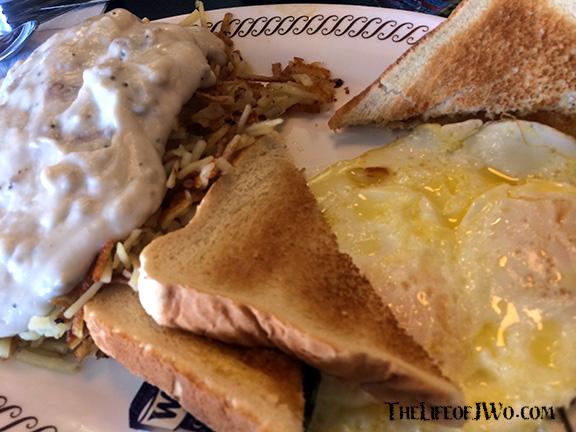 My Waffle House breakfast.
