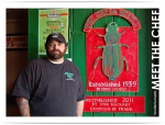 Josh Huckaby, The Green Beetle owner and Chicaog Bears fan. (photo from http://foodiememphis.blogspot.com)